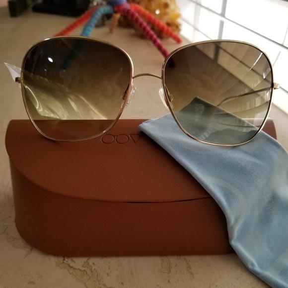 af64ec5e9c NEW - Oliver Peoples Elsie Gold Metal Sunglasses. M 5b6780354ab63335bbdd9cb9
